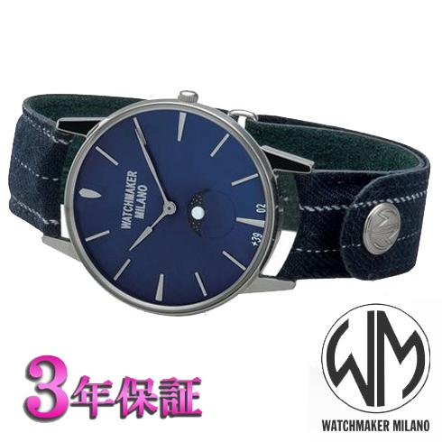 (あす楽) ウォッチメーカーミラノ(watchmaker milano)アンブロジオ WM.AFL.02 メンズ [正規輸入品]【楽ギフ_のし】(正規品)週末のコーデを意識したモデルo