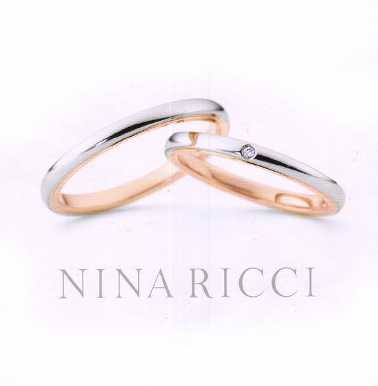 ニナリッチ マリッジリング [結婚指輪] (左側) 6R1F01【最安値挑戦】【送料無料】05P03Sep16\78,840
