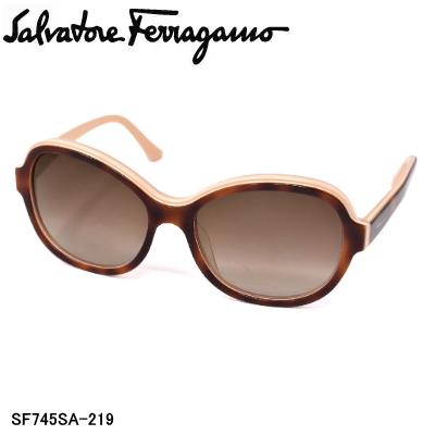 Salvatore Ferragamo イタリアを代表するファッションブランド 販売 新品 送料無料 サングラス サルヴァトーレ SF745SA-219 レディース フェラガモ