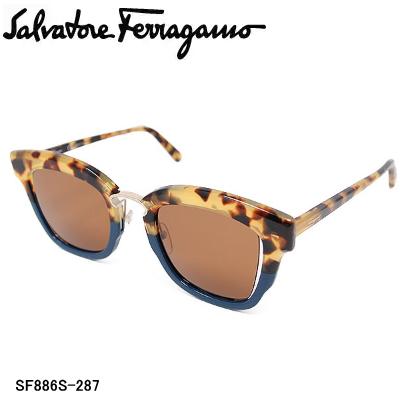 国内正規品 Salvatore Ferragamo サルヴァトーレ フェラガモ SF886S-287 サングラス レディース【送料無料】