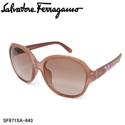 国内正規品 Salvatore Ferragamo サルヴァトーレ フェラガモ SF871SA-6430 サングラス レディース【送料無料】