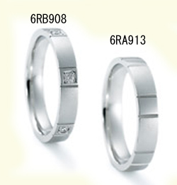 ニナリッチ マリッジリング  ペア 2本分 [指輪] Pt900 結婚指輪 6RB908 6RA913【ペア特別価格】【最安値挑戦】【送料無料】【05P03Sep16】\263,520