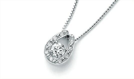 サンクスデイズ・プラチナ (雑誌広告商品) Thanks Days Platinum ダイヤモンドペンダント 0.30ctup 0.10ct (正規品) 【楽ギフ_のし】【楽ギフ_メッセ入力】【送料無料】10P03Sep16