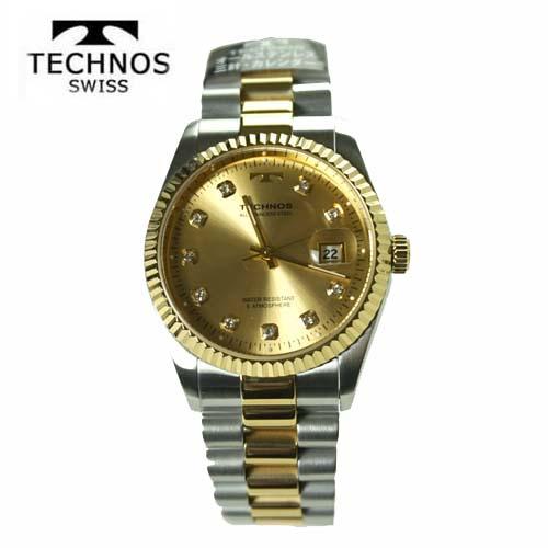 テクノス(TECHNOS) 腕時計 5気圧防水 T9604TC【最安値挑戦】【送料無料】【ホワイトデイ】【父の日】