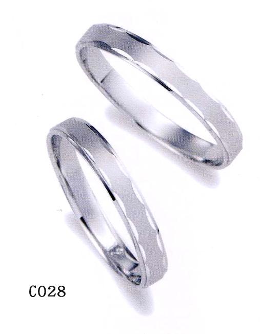 2本分 et toi (エトワ) マリッジ Pt950(プラチナ) 【マリッジ ペアリング 結婚指輪 1号~21号】 C028 オーダー品(ご納期約4週間)【最安値挑戦】【05P04Jun19】【送料無料】\101,520