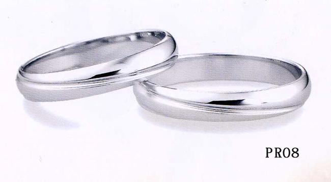 et toi (エトワ) Pt900(プラチナ) 【マリッジ リング 結婚指輪 22号~24号】 PR08 【最安値挑戦】【05P18Jun16】【送料無料】オーダー品 \77,760