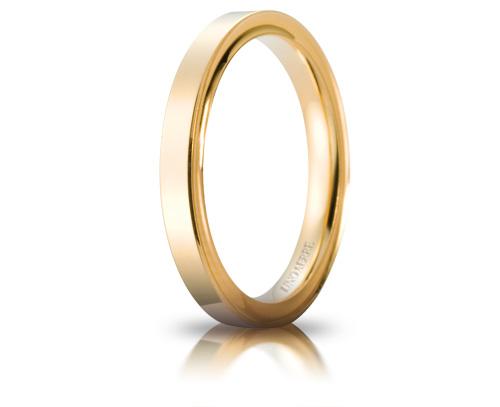 ウノアエレ結婚リング ウノアエレ マリッジリング  K18 結婚リング cerchi di luce03