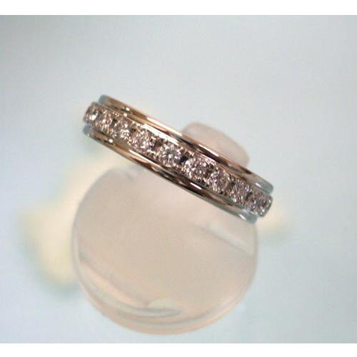 高級ダイヤモンド ラザールダイヤモンド Pt950 フルエタニティー リング 0.7ctフ LD216PR7【楽ギフ_のし】【楽ギフ_メッセ入力】【送料無料】10P03Sep16