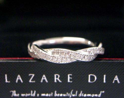 マリッジリング・結婚指輪 ラザール 最高級の輝き LD235PRD ダイヤモンド ブライダル (プラチナ950)サイズ10号【サイズ直しの場合±3号まで】【オーダーの場合納期3~4週間】【送料無料】