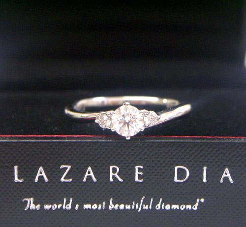 (世界一の輝き) ラザール ダイヤモンド ブライダル エンゲージリング・婚約指輪 (プラチナ950) LD348PRD【オーダー品/納期4週間】【全国送料無料】【20P03Sep16】