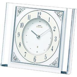 セイコー 大人気 大理石枠 クォーツ 置時計 エムブレム EMBLEM のし宛書 10P04Jun19 名入れ 送料無料 新作製品、世界最高品質人気! HW565W 包装