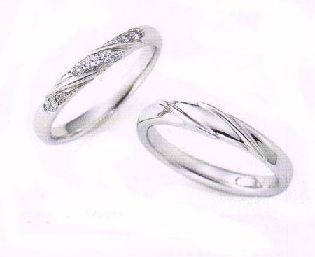 ニナリッチ マリッジリング [結婚指輪] ダイヤ入り 6RB067(画像左)【最安値挑戦】【送料無料】【05P03Sep16】\155,520