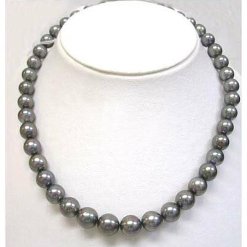タヒチ黒真珠ネックレス(直販特価)天然ブラック  【楽ギフ_のし】【楽ギフ_メッセ入力】【smtb-kd】