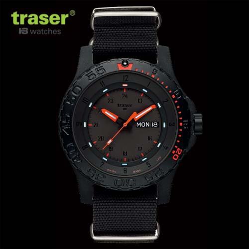 【traser】 トレーサー 腕時計  TYPE6 MIL-G Red Combat  P6600 RED COMBAT メンズ [正規輸入品]【smtb-kd】【送料無料】05P06jul13fs04gm