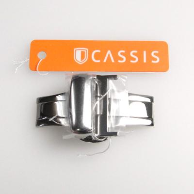 CASSIS カシス PBFバックル SSM (ステンレススチール) 10mm・12mm・14mm・16mm・18mm。20mm・22mm〈BR〉ゆうパケット便にて発送【代金前払い時送料全国一律360円】(代金引換は宅配便送料と代引き手数料が掛かります)