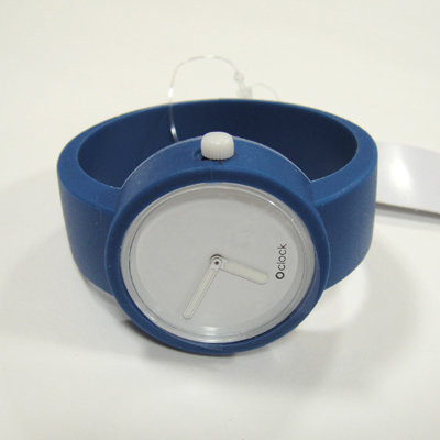 O'clock Capri blue color O clock o entered the clock color silicone watch made in ITALY can fashion watch
