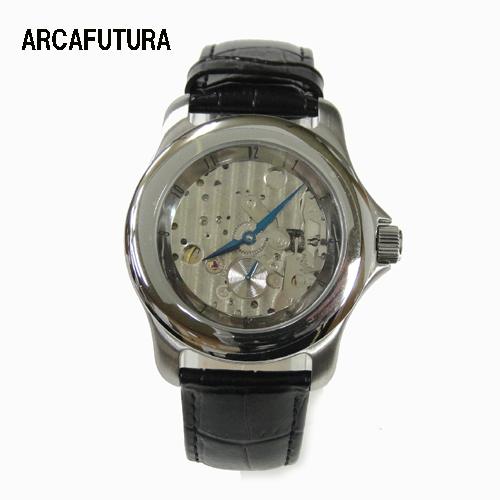 (あす楽)アルカフトゥーラ 腕時計 自動巻き Arca Futura 251SKBK
