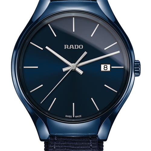 【RADO】ラドー 腕時計 トゥルー カラーズ ネイビー クオーツ   Rado  True  Colours  ハイテクセラミックス  R27235206 (国内正規販売店)【】【楽ギフ_包装】【10P14Jun18】