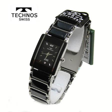 (あす楽)テクノス 腕時計 (TECHNOS) 3気圧防水 サファイアガラス T9796TB レディース【送料無料】 【ギフト】【ホワイトデイ】