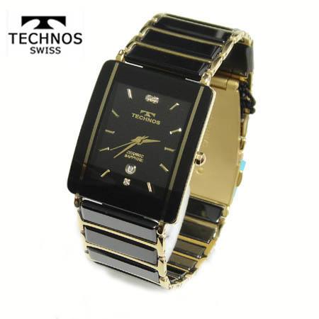 (あす楽)テクノス 腕時計 (TECHNOS) 3気圧防水 サファイアガラス T9137GB メンズ【送料無料】【父の日】【ギフト】【ホワイトデイ】
