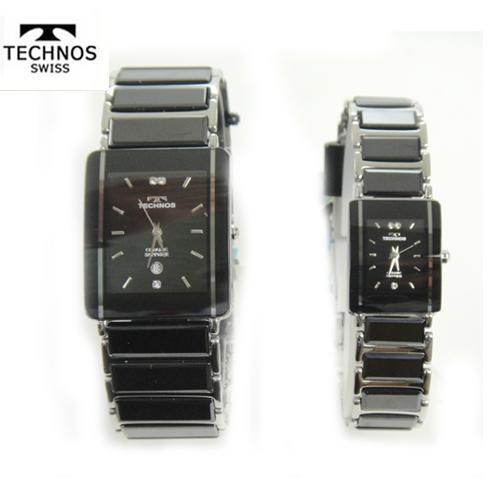テクノス ペアウオッチ 腕時計 (TECHNOS) 3気圧防水 サファイアガラス T9137TB-T9796TB【送料無料】【スーパーセール】【ホワイトデイ】02P04dec18
