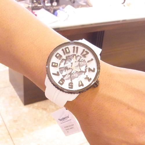 ()MARK&LONA tendensu(TENDENCE)僞裝色表盤Gulliver ML02043014GY GULLIVER MARK&LONA COLLABORATION手錶雜誌利昂Panzetta穿用型號!