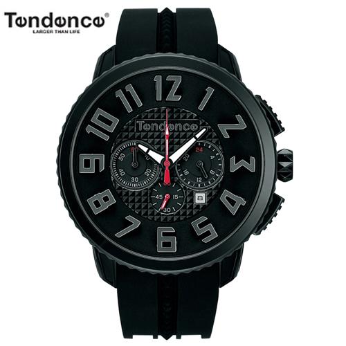 【正規4年保証】5%クーポン テンデンス] TENDENCE ガリバー47 GULLIVER 47 腕時計 TY460014 クロノグラフ[正規輸入品] 【送料無料】バレンタイン/