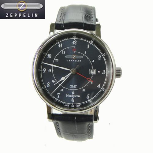 (あす楽)[正規輸入品] ツェッペリン 腕時計 75463 ノルドスタン Nordstern メンズ 【楽ギフ_のし】【名入れ】7546-3 10P04Sep18