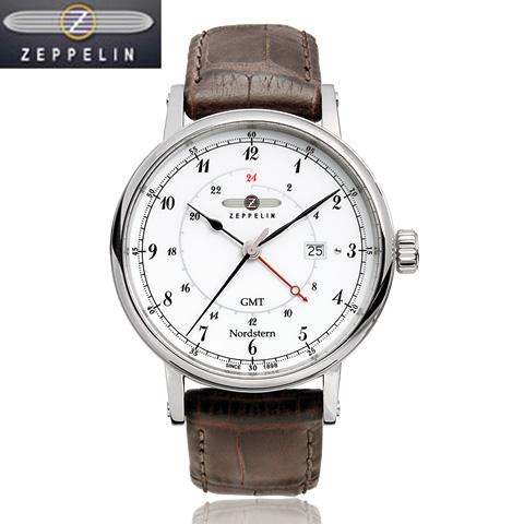 [正規輸入品] ツェッペリン 腕時計 75461 ノルドスタン Nordstern メンズ 【送料無料】【のし】【メッセ入力】【名入れ】【10P04Sep18】7546-1