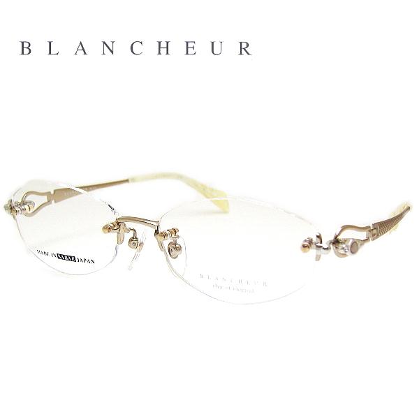 【送料無料】 ブランシュール メガネフレーム BLANCHEUR BC214 COL-01 SIZE-51 レディース