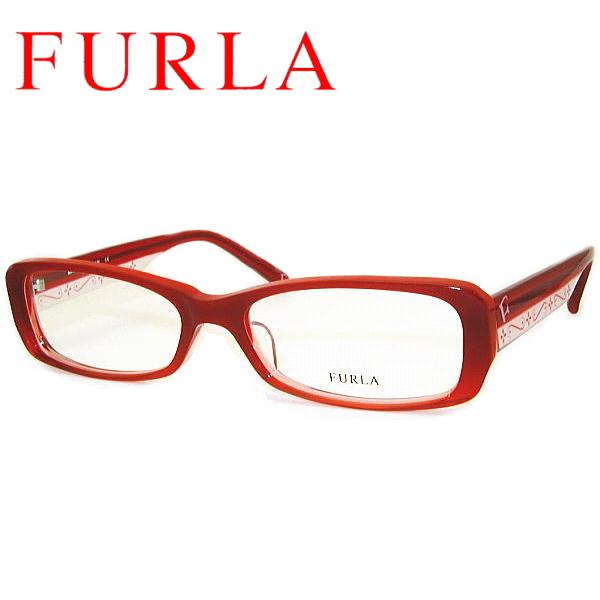 【送料無料】 フルラ メガネフレーム FURLA VU4602J COL-P43 SIZE-52 FURLA レディース