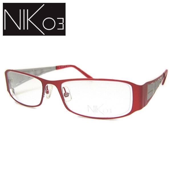 ニックゼロスリー メガネフレーム NIK03 NK439 COL-23 SIZE-52
