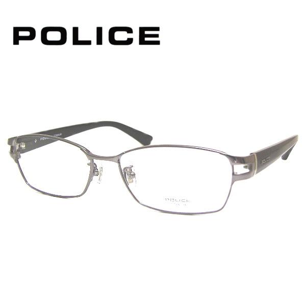 ポリス メガネフレーム POLICE VPLA99J COL-0568 SIZE-55 メンズ