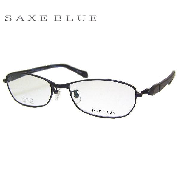 【送料無料】 ザックスブルー メガネフレーム SAXE BLUE SB7064 COL-4 SIZE-55 メンズ