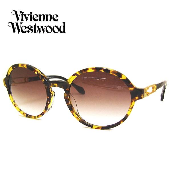 ヴィヴィアンウエストウッド サングラス Vivienne Westwood VW7763-YD イエローデミ/ライトブラウングラデーション