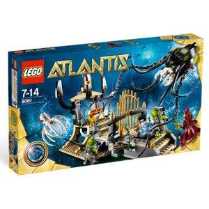 【新品】LEGO レゴ アトランティス 巨大イカのゲート 8061 おもちゃ