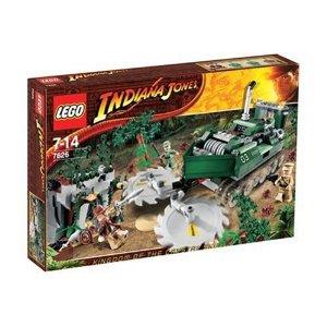 【新品】【箱ダメージ有】LEGO(レゴ) インディ・ジョーンズ 7626 ジャングル・カッター