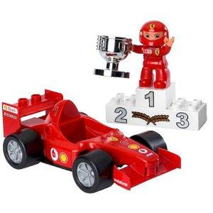 【新品】【箱劣化】レゴ LEGO エクスプロア レゴのまち フェラーリ F1レースカー 4693