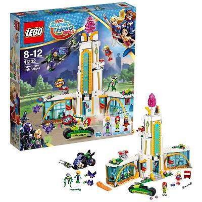 【新品】LEGO レゴ 41232 DCスーパーヒーローガールズ スーパーヒーロー ハイスクール レゴジャパン おもちゃ