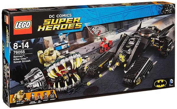 【新品】LEGO レゴ 76055 スーパー・ヒーローズ バットマン キラークロック 下水道での対決 レゴジャパン おもちゃ