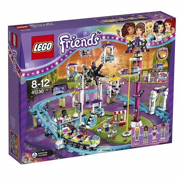 【新品】LEGO friends レゴ 41130 フレンズ 遊園地 ジェットコースター レゴジャパン おもちゃ