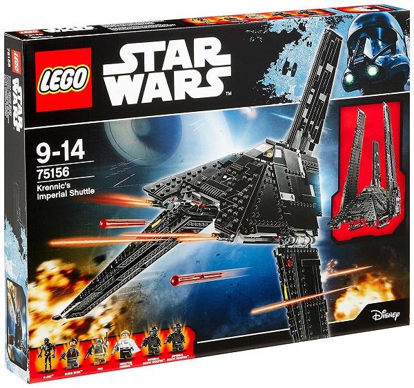 【新品】LEGO STARWARS 75156 レゴ スター・ウォーズ クレニックのインペリアル・シャトル レゴジャパン おもちゃ