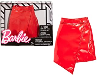 【新品】Barbieバービーセパレートファッションパック - レッドフェイクレザースカート - FPH26【送料無料】【代金引換の場合は+900円】【ゆうパケット】