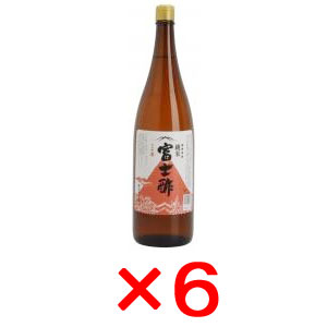 飯尾  純米富士酢 1.8L×6本【メーカー取寄品】【まとめ買い】【ムソー】