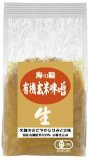 海の精 国産有機・玄米味噌 1kg×10個【メーカー取寄品】【まとめ買い】【ムソー】