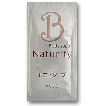 【KOSE】【コーセー】ナチュリティ ボディソープ10ml 1回分(1セット500個入)1個当り15.5円