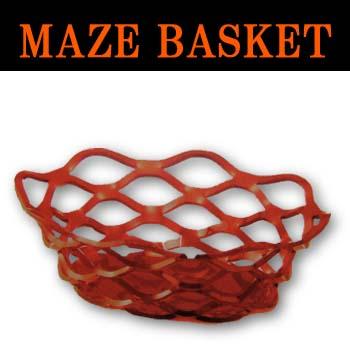 オーバルバスケットRED Lサイズ(1セット12個入)1個当り2650円