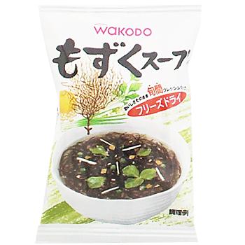 和光堂 具だくさん  もずくスープ フリーズドライ (240食セット) 1個当り88円
