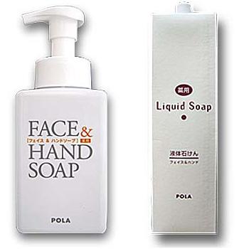 POLA facial form and hand SOAP foam / 2 l medicinal liquid soap