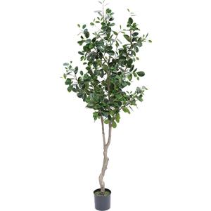 人工観葉植物 フェイクグリーン フランスゴムの木 2100【人工観葉植物・造花】
